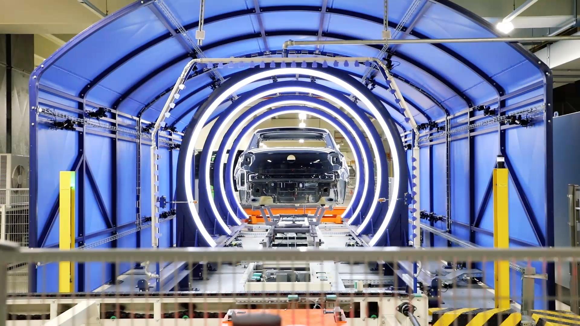 La fábrica en la que los robots bailan
